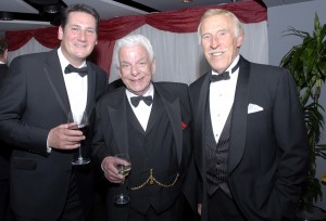Tony Hadley Barry Cryer and Bruce Forsyth