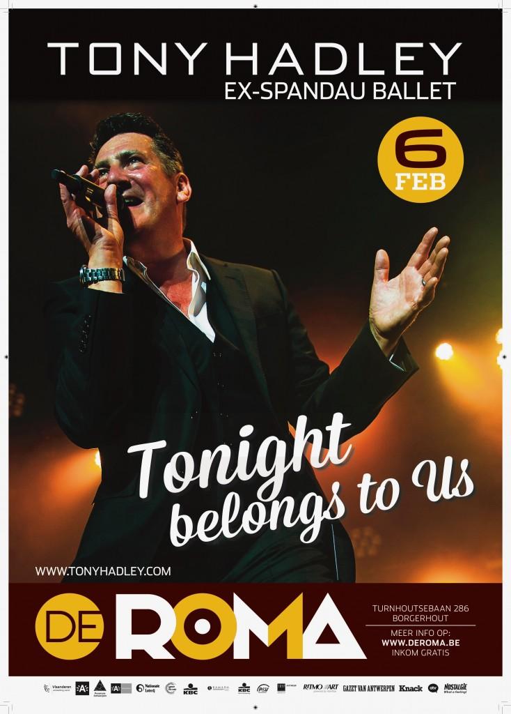 De Roma affiche 20180206 tony hadley nieuw[4]